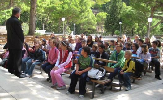 Ministranti i dječji zbor u Vepricu i Makarskoj