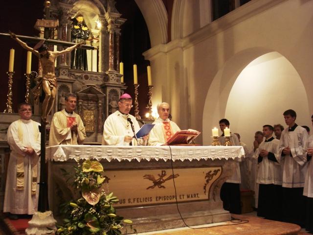 Sveta misa zahvalnica splitskih studenata i profesora