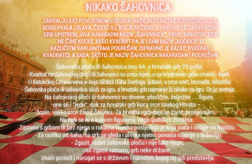 NIKAKO ŠAHOVNICA