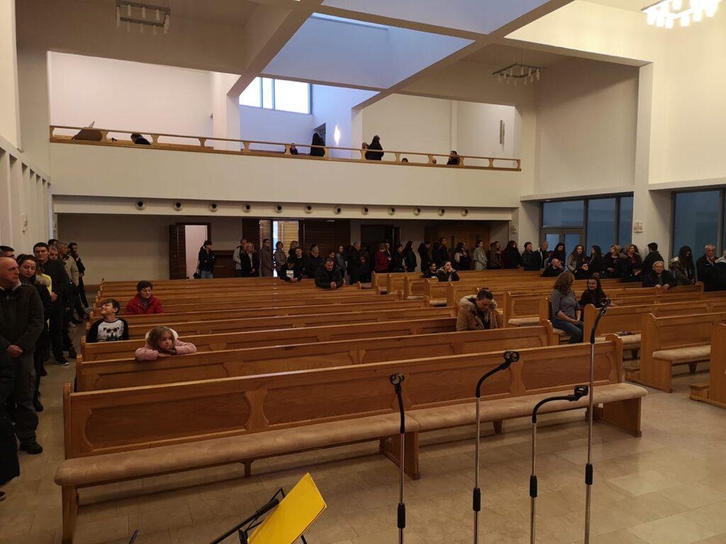 Danas popodne u našoj crkvi